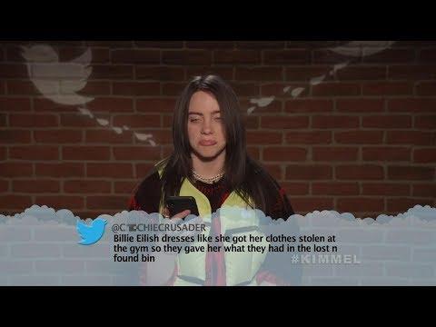 Музыканты читают злые твиты про себя #6 (Шоу Джимми Киммела)[Кураж-Бамбей]
