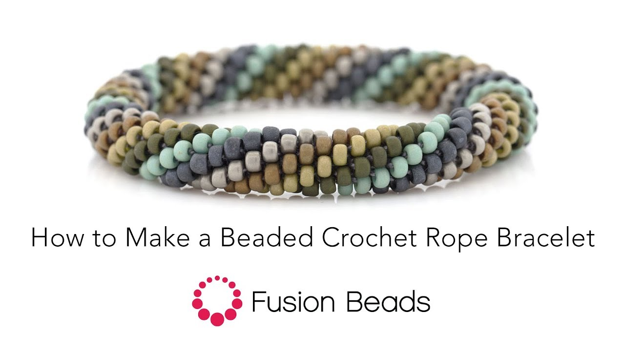 Crochet bead rope necklace instructions google search | bead.