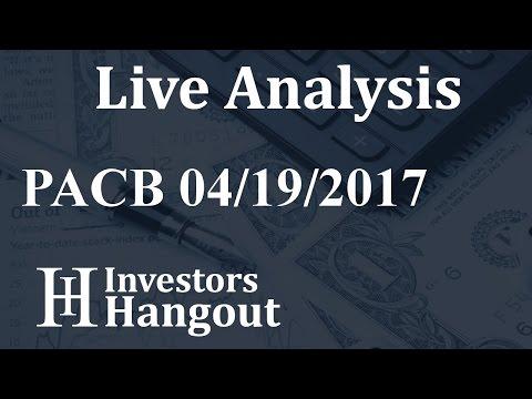PACB Stock Live Analysis 04-19-2017