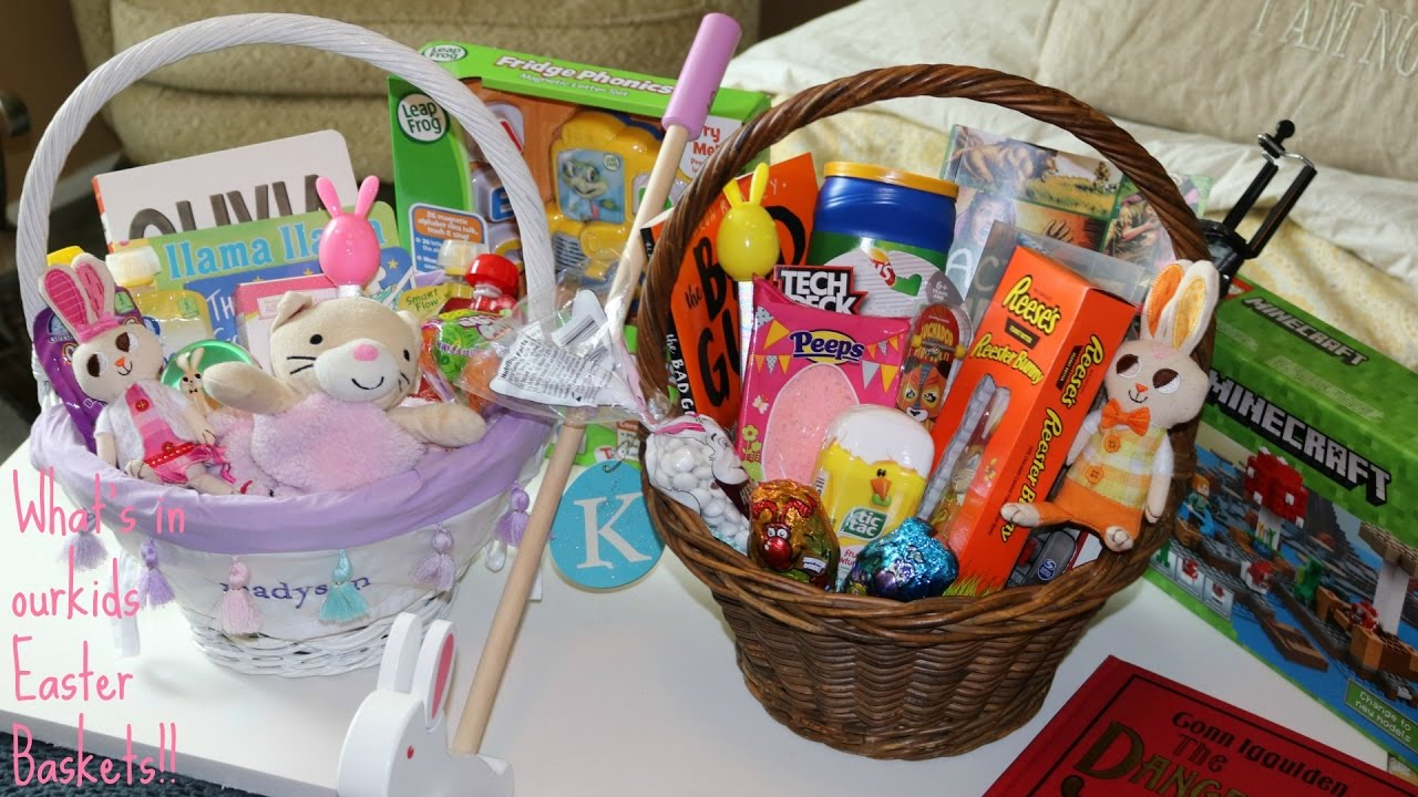 Whats in my kids easter baskets tween boy and toddler girl youtube whats in my kids easter baskets tween boy and toddler girl negle Gallery