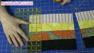 Fence Rail Quilting Block - Beginner Block Quilting Series