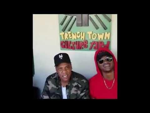 Jay'z Visit Vybz Kartel In Person & Shout Video In Trench Town