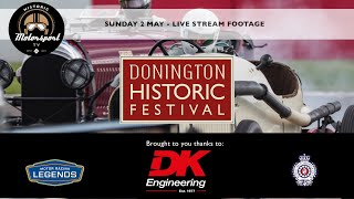 Donington Historic Festival 2021 // Sunday 2 May - Live Stream