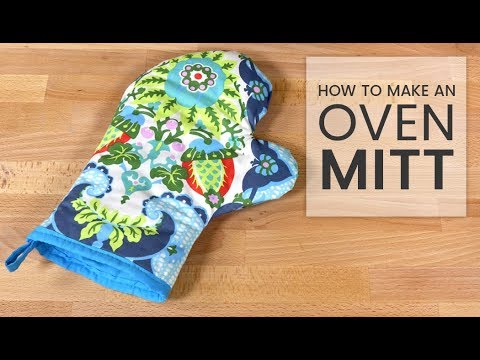 How To Make An Oven Mitt Youtube