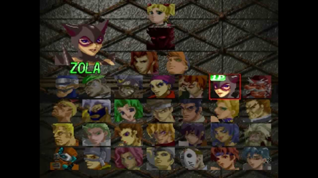 Mfg Battle Arena Toshinden 3 Characters Sprite References