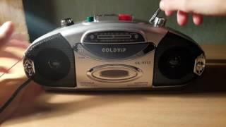 Небольшой обзор радиоприёмника GOLDYIP FM,AM