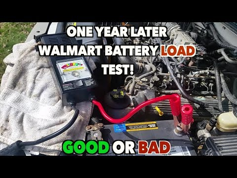 Walmart Auto Batteries Load Testing-------ONE YEAR LATER. Bad Or Good Still??