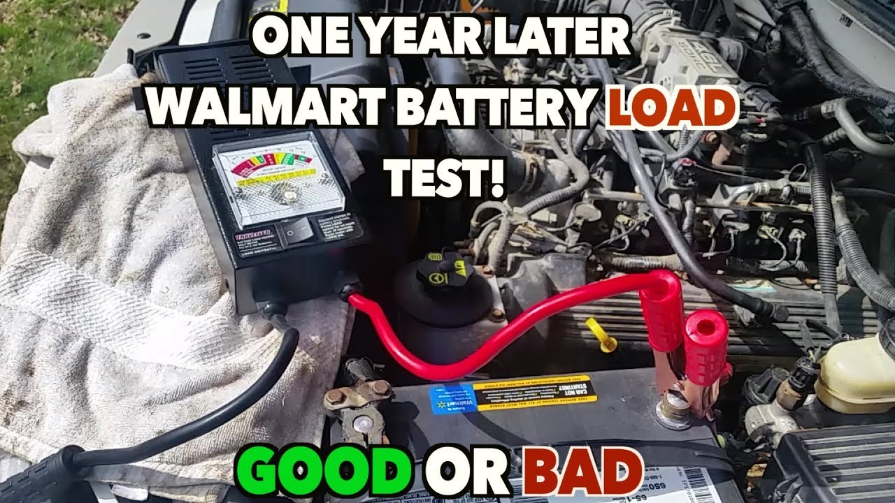 Walmart Auto Batteries Load Testing-------ONE YEAR LATER  Bad or Good  still??