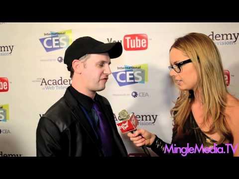 Greg Aronowitz at IAWTV Awards Red Carpet: CES 2012 Las Vegas
