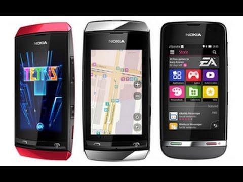 Nokia Asha 305 rm-766 не работает целый сенсор, не замена