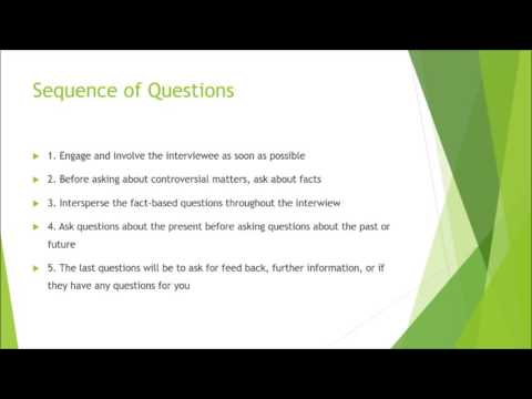 How to Conduct a Research Interview
