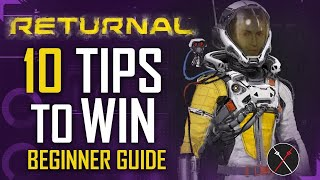 Returnal Tips & Tricks Guide: 10 Things You Should Know (PS5 Walkthrough Beginner Guide)