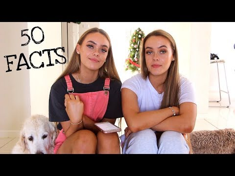 50 FACTS ABOUT US // MesciaTwins