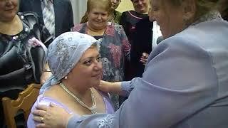 Свадьба сына Николая. Платок от свекрови.