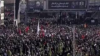 Una estampida en el funeral de Qassem Soleimani dejó al menos 35 muertos