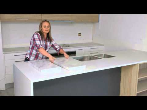 Installing Kitchen Bench Top | The Home Team 2 Ep. 41