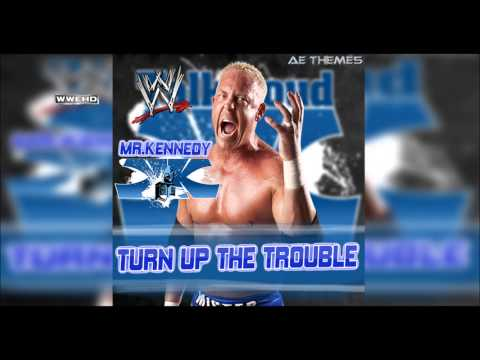 WWE: Turn Up The Trouble Mr Kennedy V3 & V4 Theme Song + AE Arena Effect