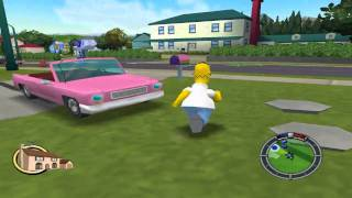 The Simpsons Hit and Run Walkthrough Part 2