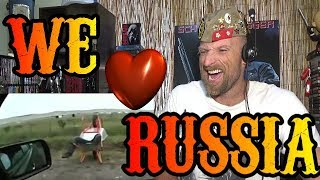 WE LOVE RUSSIA - Reaction
