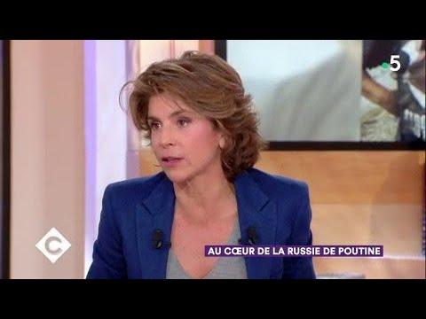 Au coeur de la Russie de Poutine avec Anne Nivat - C à Vous - 09/03/2018