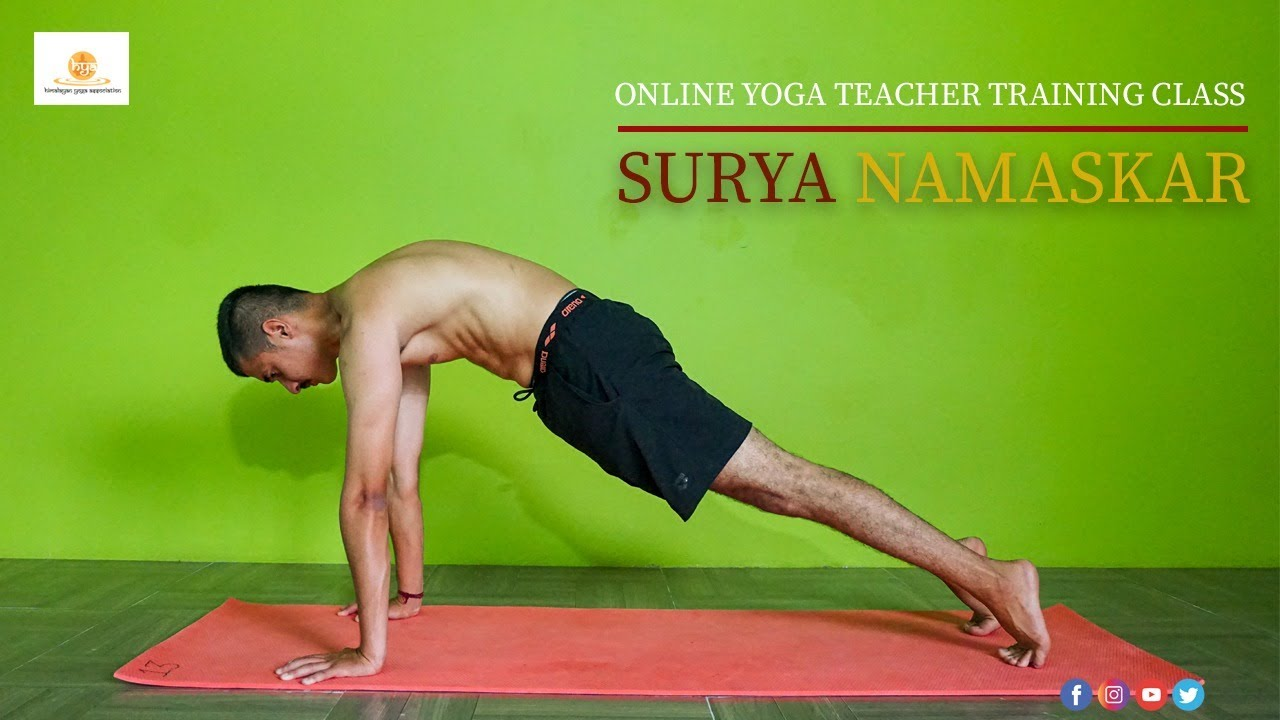2020 Online Yoga Teacher Training Course Sample Video Himalayan Yoga Association India Youtube