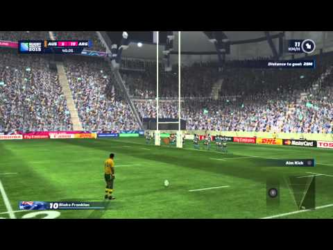 Argentina v Australia Rugby World Cup 2015 Semi Final PS4