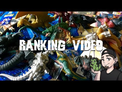 RANKING ALL OF MY BANDAI MOVIE MONSTER SERIES FIGURES!🦖