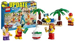 LEGO 2017 CITY PEOPLE PACK - FUN AT THE BEACH 60153 SET IMAGE UPDATE
