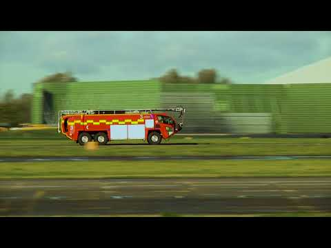 Manchester Airport Fire Engines HEVC #2