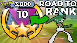GALLADE IS NOTHING TO JOKE ABOUT IN THE GREAT LEAGUE | POKEMON GO BATTLE LEAGUE PVP