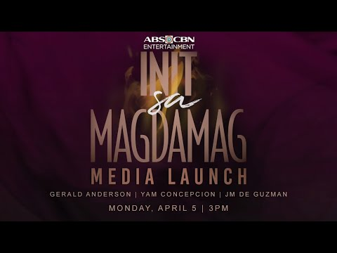 Init Sa Magdamag | Media Conference | April 5, 2021