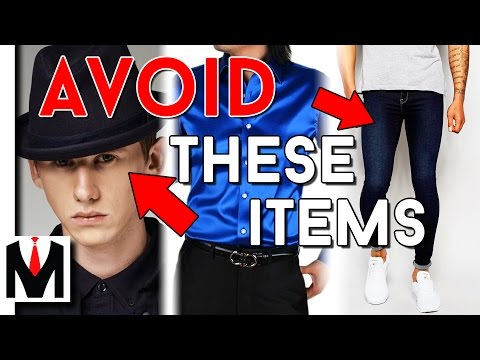 TOP 10 STYLE ITEMS NO GUY SHOULD OWN! | Ten Worst Men's Clot