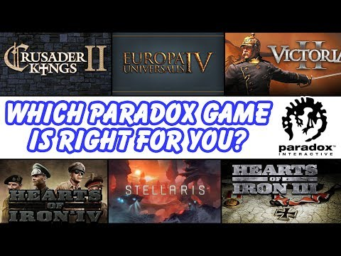 Which Paradox Grand Strategy Game is Right For You? Ck2, EU4, Vicky 2, HoI4, Stellaris, or HoI3?