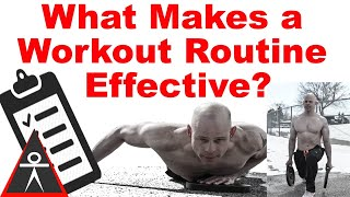What Makes a Routine Effective?
