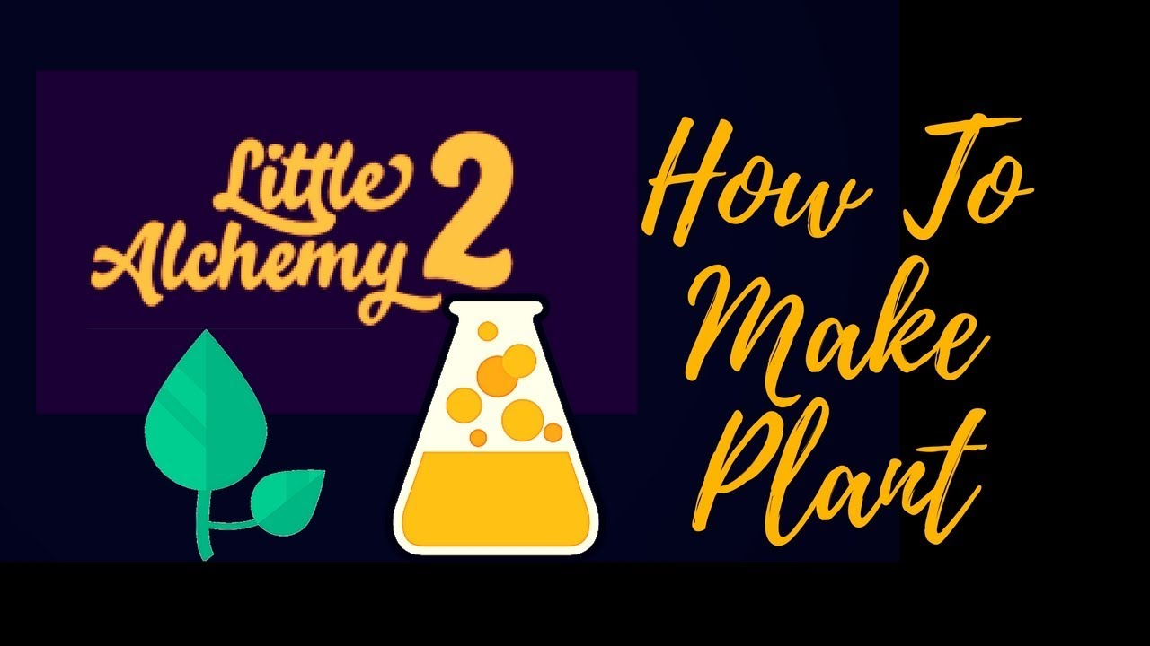Little Alchemy 2: How To Make Quick Plant ?! - YouTube