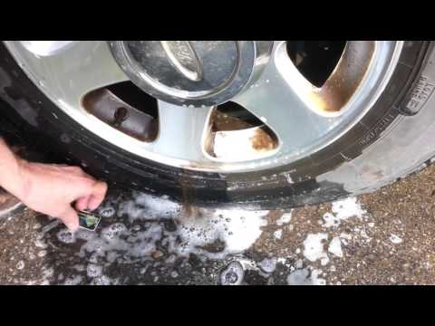 Great trick for cleaning brake dust on aluminum wheels rims