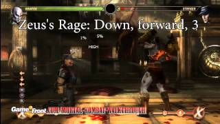 Mortal Kombat (2011) - Defeating Shao Kahn in Story Mode Strategy Guide (Normal Mode)