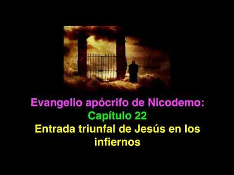 Resultado de imagen para evangelio de nicodemo, apocrifo