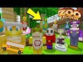 ZOO FIELD TRIP *PART 2* NEW PETS! - Super Nintendo School - (Minecraft Switch) [12]