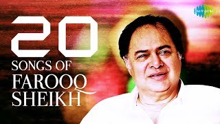 Top 20 Song of Farooq Sheikh | फ़ारूक़ शेख 20 के गाने | HD Songs | One Stop Jukebox