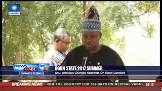 Ogun 2017: Summer Amosun Charges Students On Good Conduct