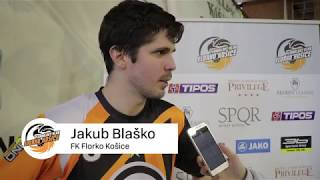 Rozhovor s Jakubom Blaškom po 2. zápase play-off | Štvrťfinále 2017/2018