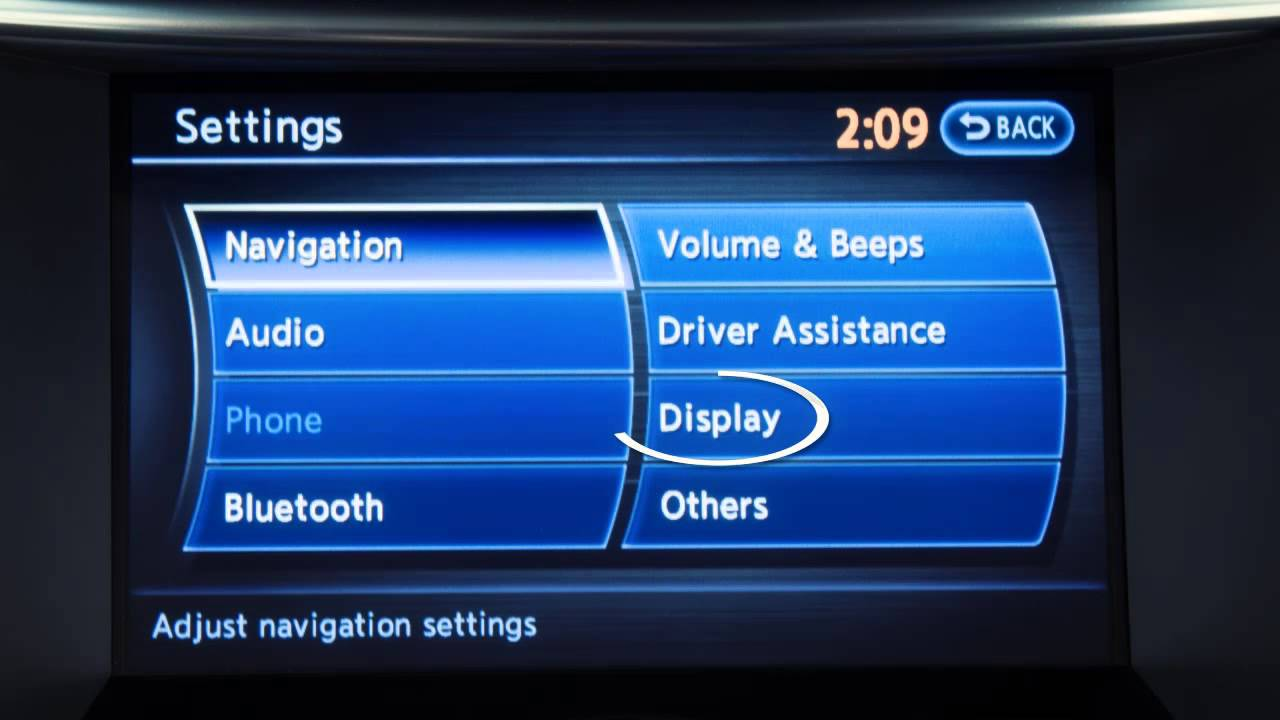 2013 Infiniti Fx Dvd Player If So Equipped Youtube Remote Setup