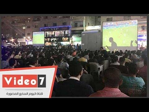 المقاهى المصرية تتكدس بالجماهير لمتابعة نهائى دورى الأبطال  - 01:22-2018 / 5 / 27
