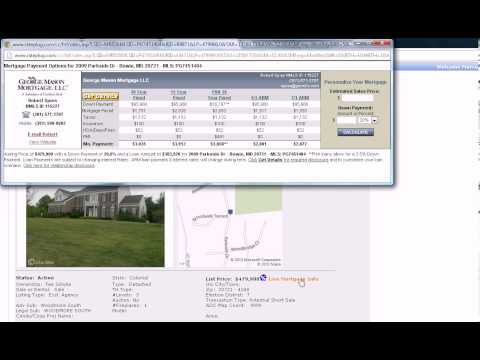 Million Dollar Home Foreclosures in DC & Maryland