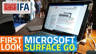 Microsoft Surface Go Budget Windows 10 Tablet First Look