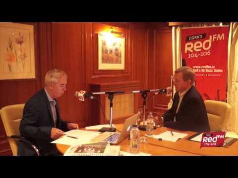 Neil Prendeville Speaks To Taoiseach Enda Kenny