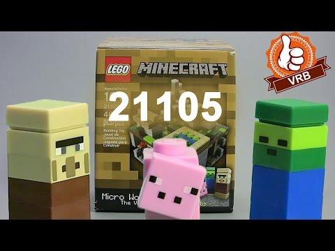 Lego minecraft, micro world 21102 купить
