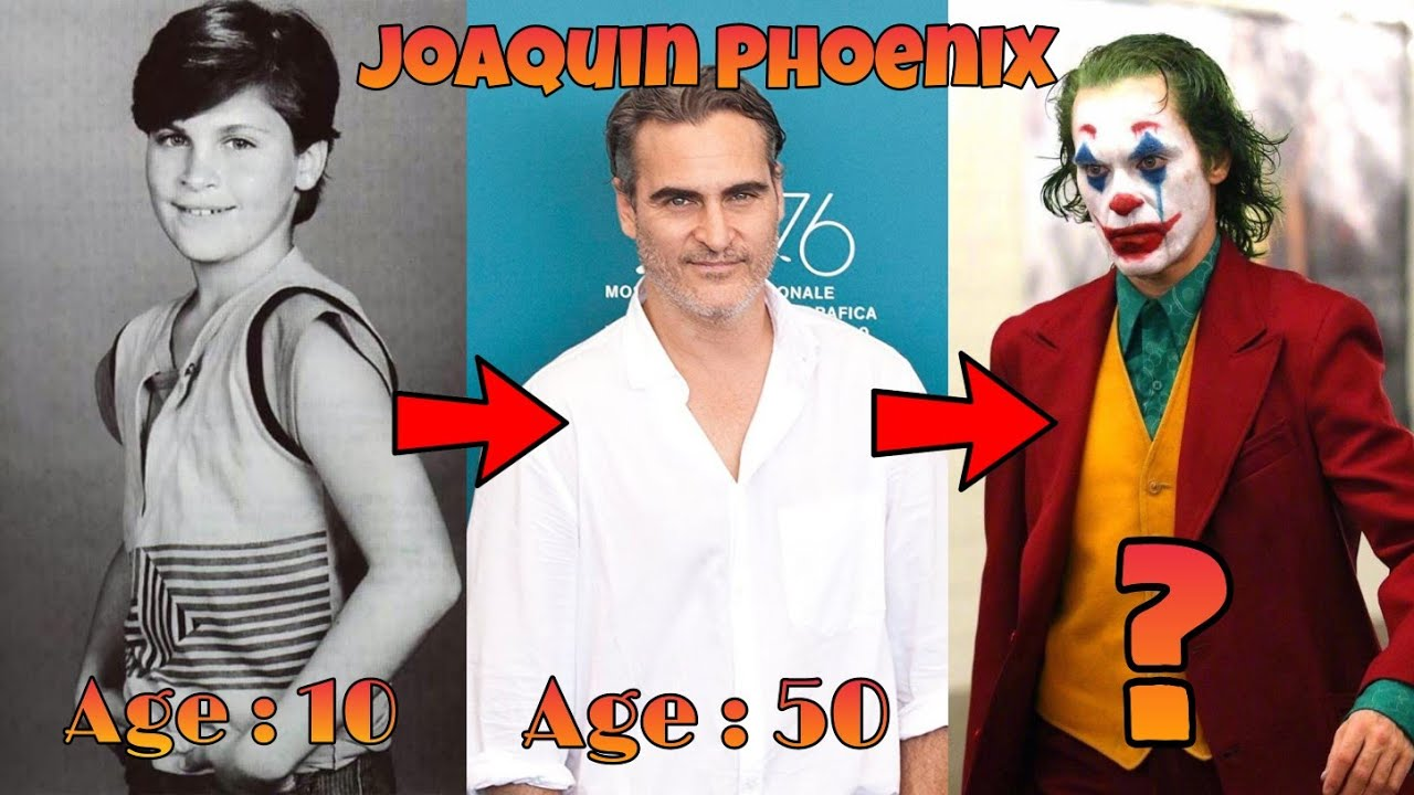 Download Joaquin Phoenix Transformation From 1980 to 2020   Age 10 to 45   Some Rare Pics of Joaquin Phoenix