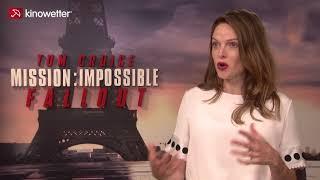 Baixar Interview Rebecca Ferguson MISSION: IMPOSSIBLE - FALLOUT
